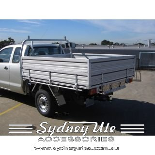 Alloy Tray Sydney Ute Accessories Toyota Hilux Extra Cab