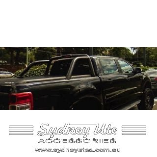Mountain Top Roll Ford Ranger Dual Cab BLACK anodised Roller Sydney Ute Accessories