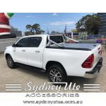 Mountain Top Roll,Toyota Hilux, Dual Cab, Natural Anodised Roller Sydney Ute Accessories