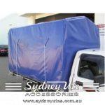 Courier Blue Canvas Cover Sydney Ute Accessories