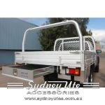 Mazda BT-50 Single Cab Ute tray